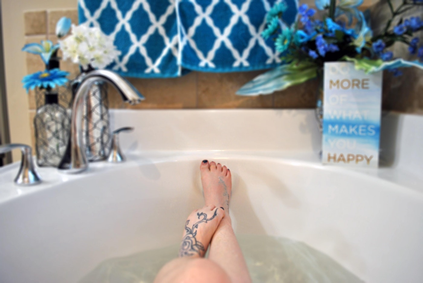 Hot Bath Alcohol-Free Inspiration for Dry July 2020 - Day 3 Sober Treats