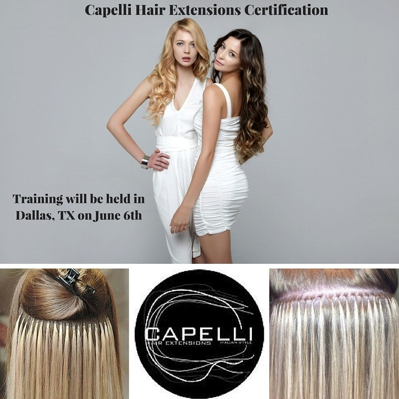 Interested In A Capelli Hair Extensions Certification Contact Us At