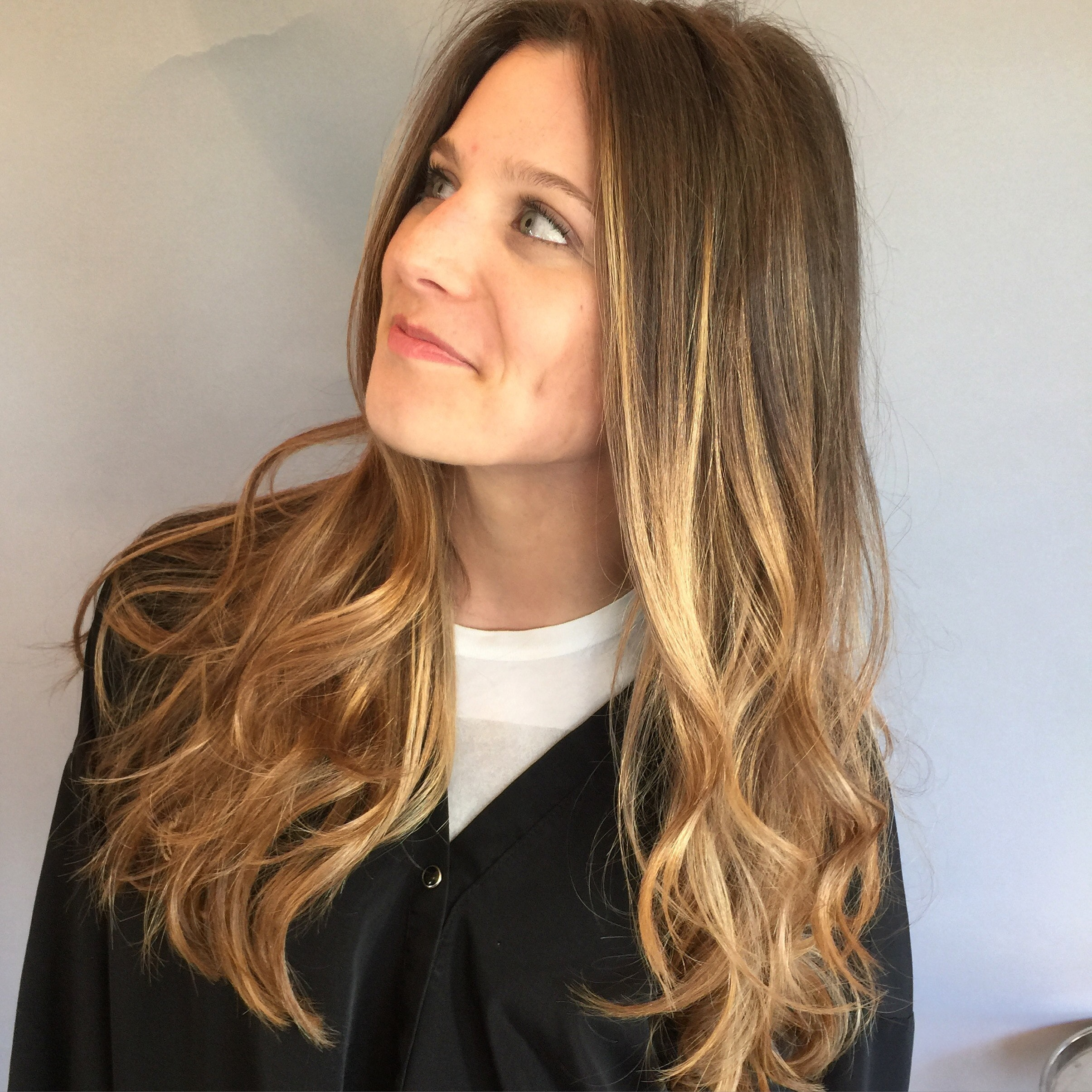 Cut By Me Balayage Using Wella Freelights By Christie At Gerber