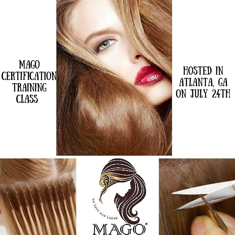 Interested In A Mago Hair Extensions Certification We Will Be