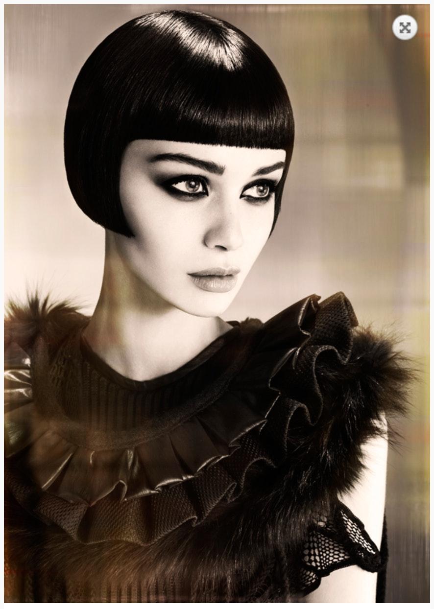 Professional Beauty Association NAHA16 Contemporary Classic Nominee David Barron Barron's London Salon Photographer: John Rawson Wardrobe Stylist: Kimberly ...