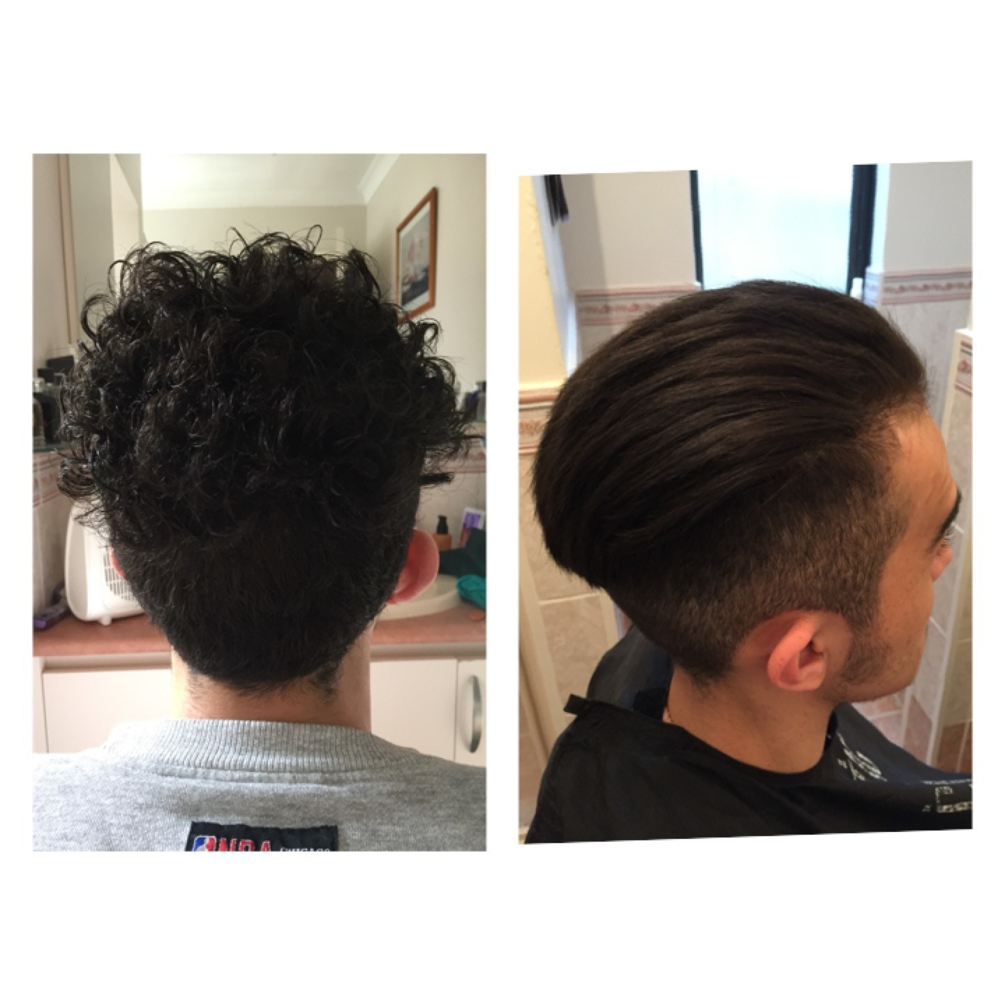 Before And After Korean Soft Rebonding Hairbrained
