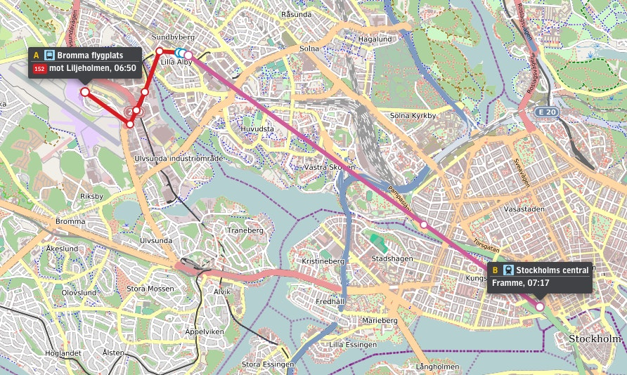 How to get from Bromma Airport to the City Centre | Stockholm