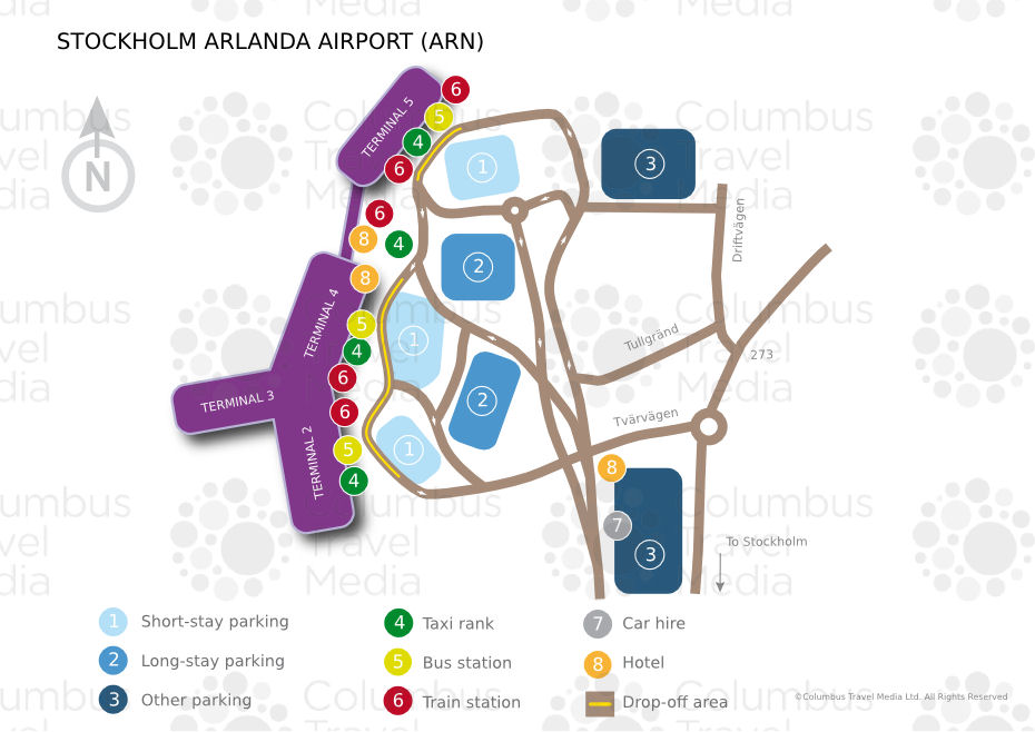 Cheapest way to travel between Stockholm city center and Arlanda