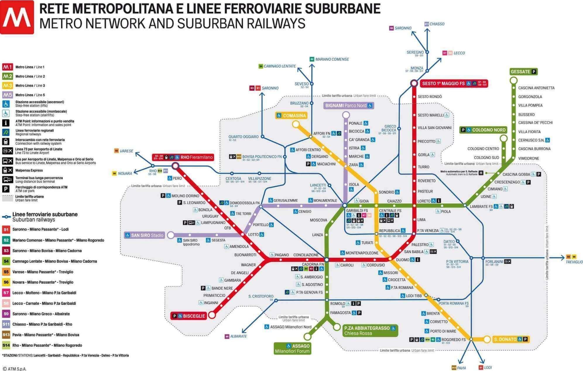 Public Transport in Milan Milan
