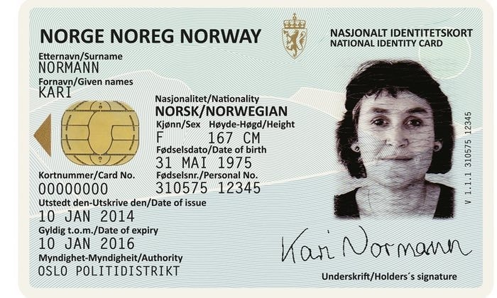 How To Obtain Norwegian Id Number