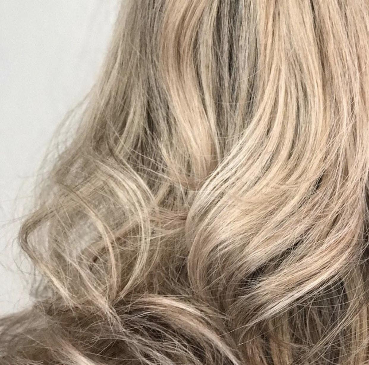Layering Blonde Finish Toner And Mens Grey Blendingformula Below