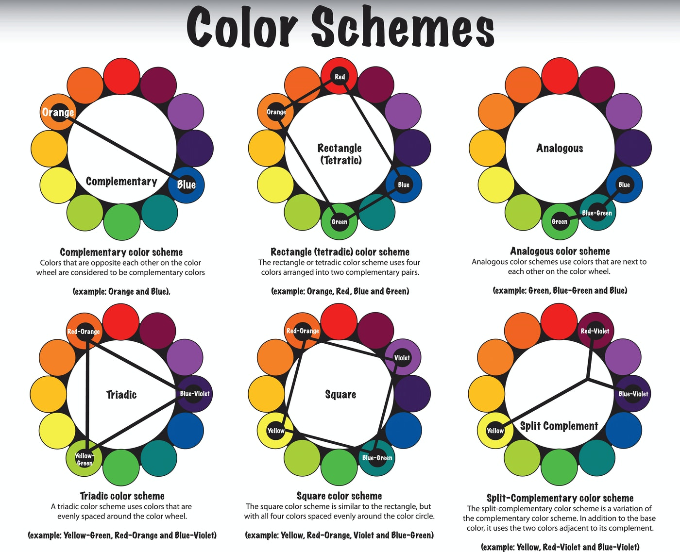 Geeking Out Color Schemes