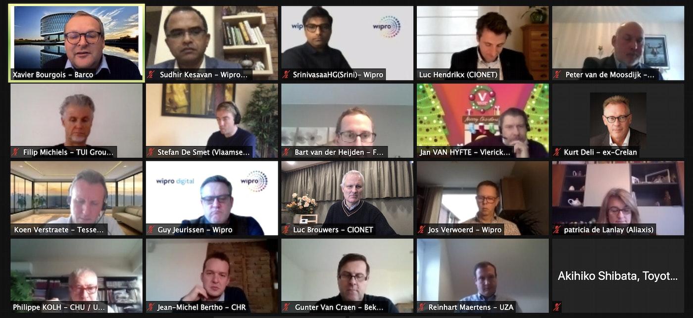 Building a Digital Operating Model : Participants