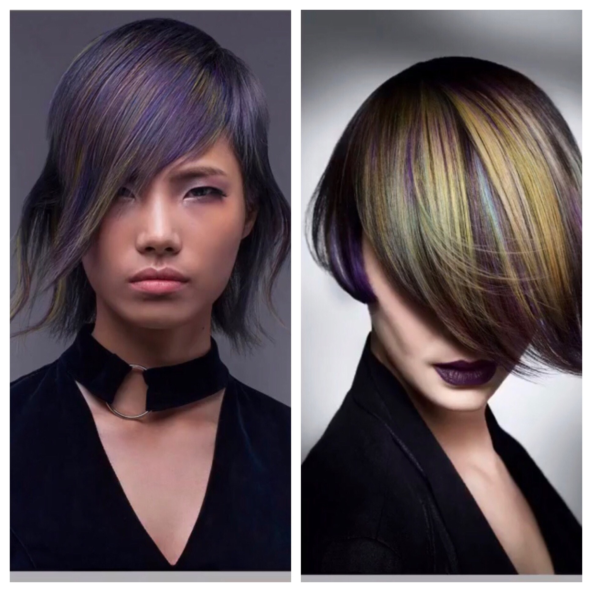 Goldwell 2017 Colorzoom Finalists Vu Nguyen Canada Creative Color