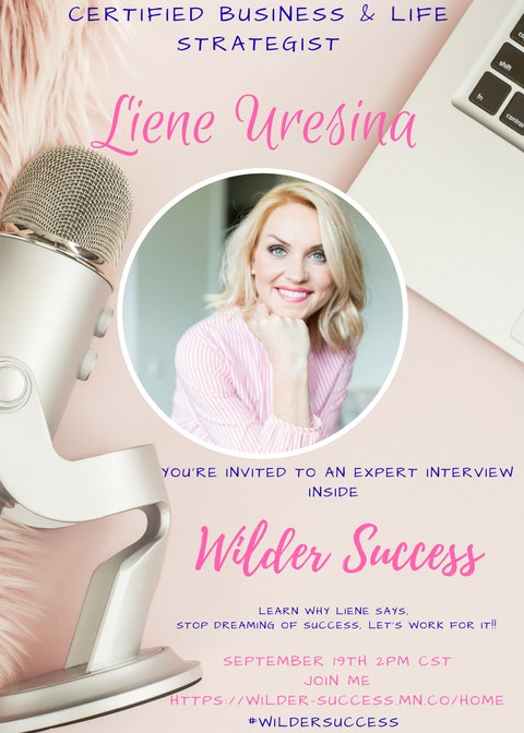 Wilder success dont miss my kickass episode of wilder success guest experts where i have a freaking awesome conversation with liene uresina this lady has a very robust malvernweather Choice Image