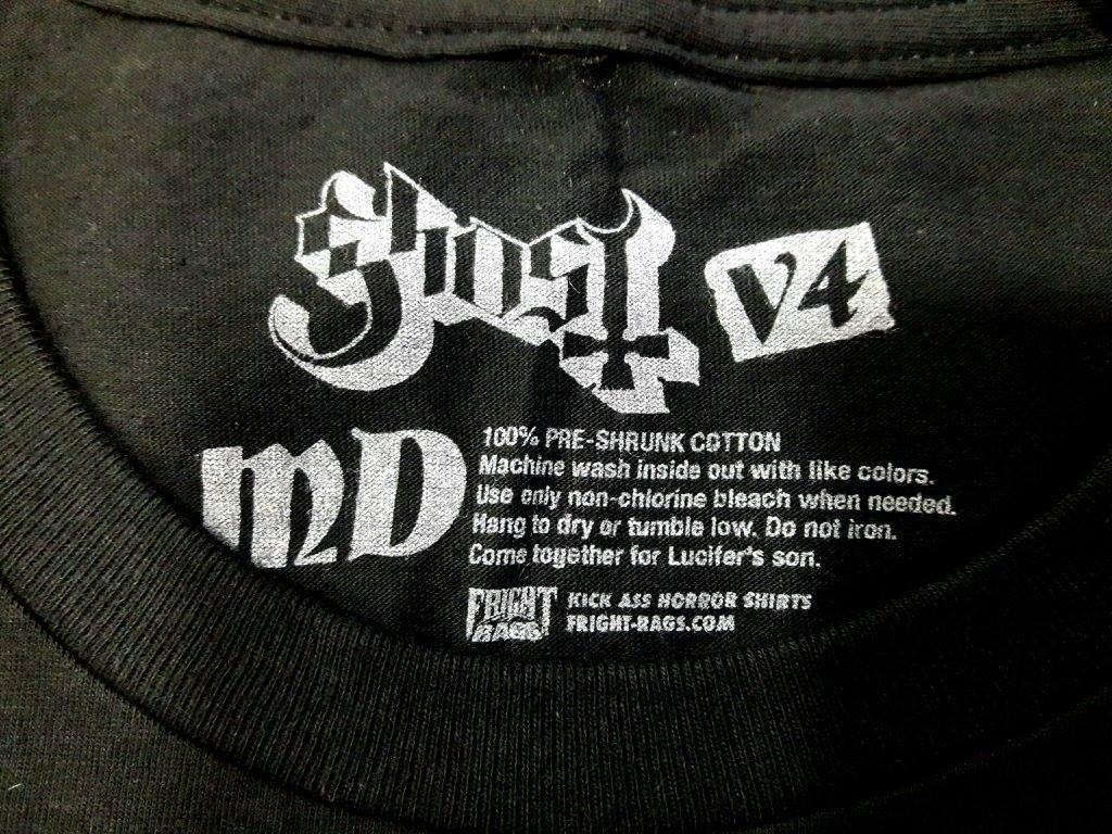 Ghost Fright Rags Shirts V1-V4 | MerchVice