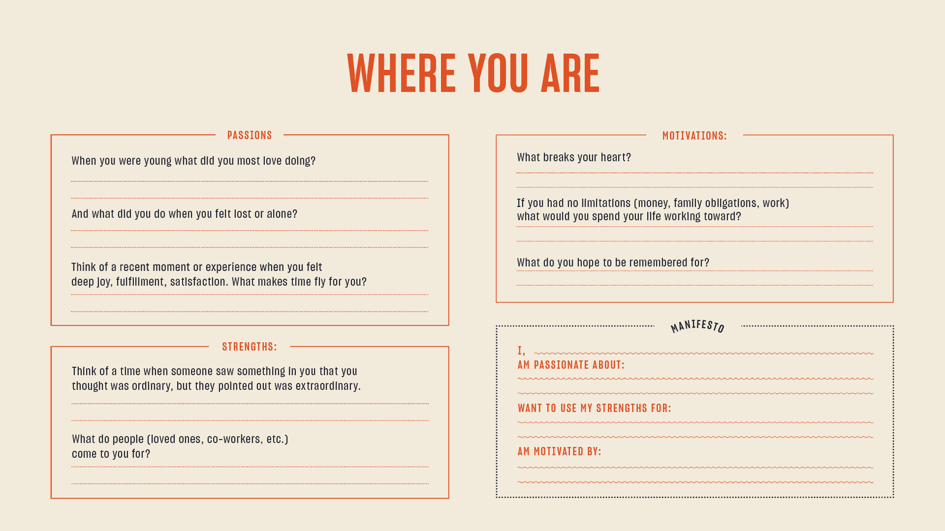 📝 Get the Worksheets Where You e From Where You Are & Where