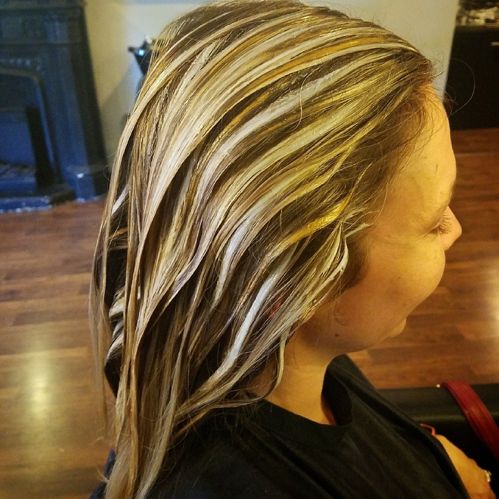 Hand Painting With Lightener And Keune Color Hairbrained