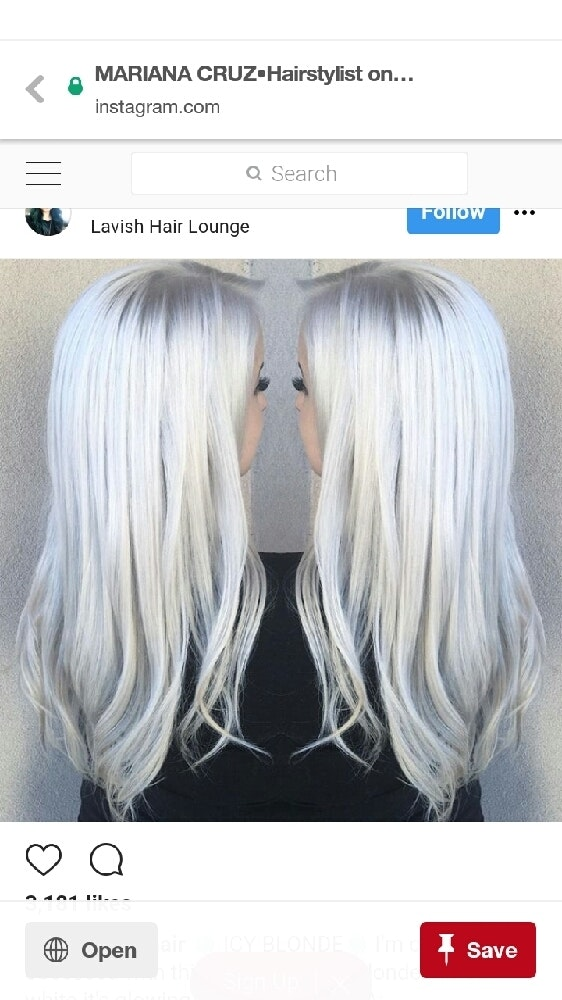 I Have A Question I Have Lifted Bleached A Client S Hair To White Which Is What She Wants And Doesn T Like The Toner I M Recommending Cuz It S More On The Grey Scale