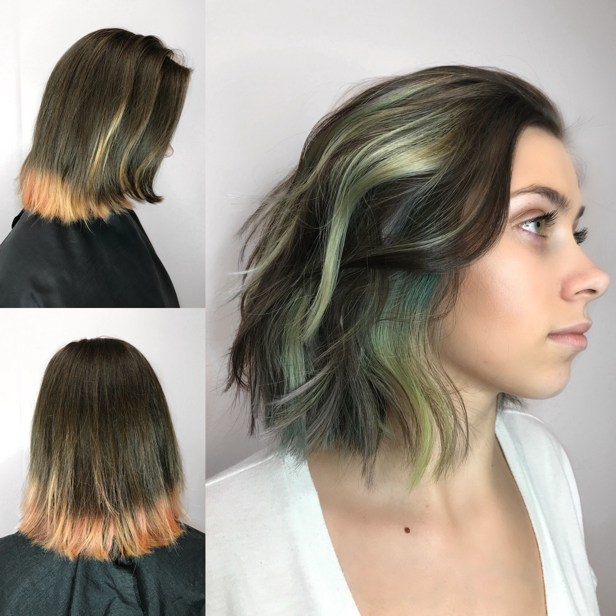B E F O R E A F T E Rfrom Box Color And Trim Done By Her Mom To