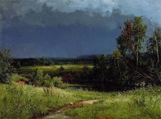 Gathering Storm by Ivan Shishkin