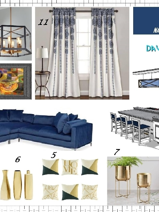Just Finished The Mood Board Design Concept And Waiting For The Customer To Approve It Then Will Start The 3d Design And We Will See The Full Image For That Interior
