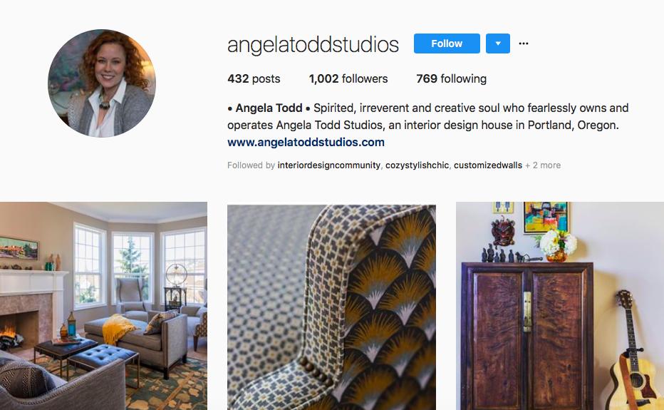 Contemporary home office angela todd Decor Follow Angela Todd angelatoddstudios Maine Home Design Instagram Accounts To Follow If You Love Interior Design part