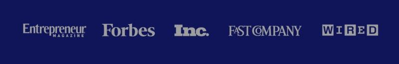 Forbes, tạp chí Doanh nhân, Inc., Fast company, Wired