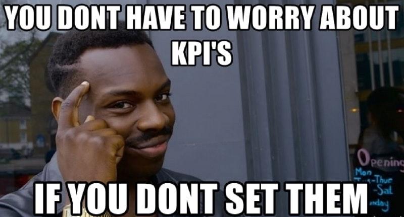 KPI meme