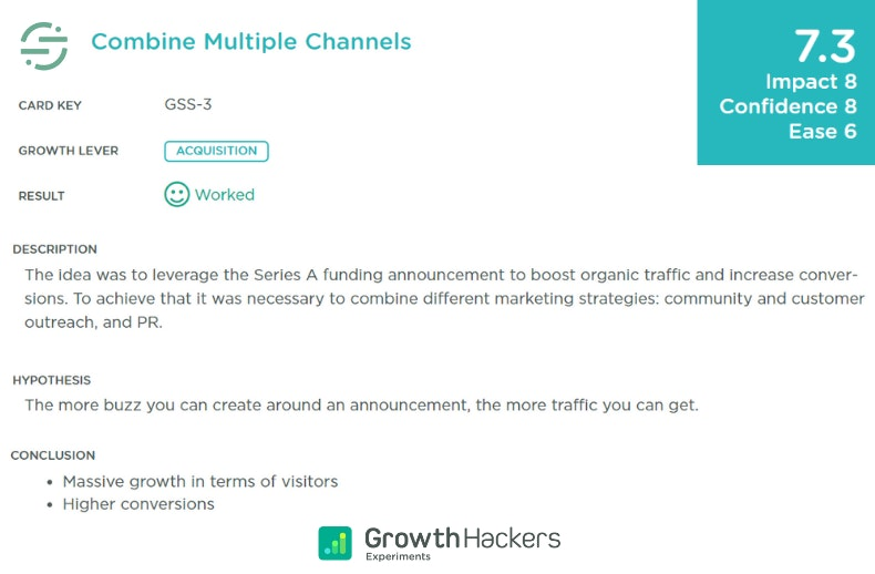 Growth hacking Segment