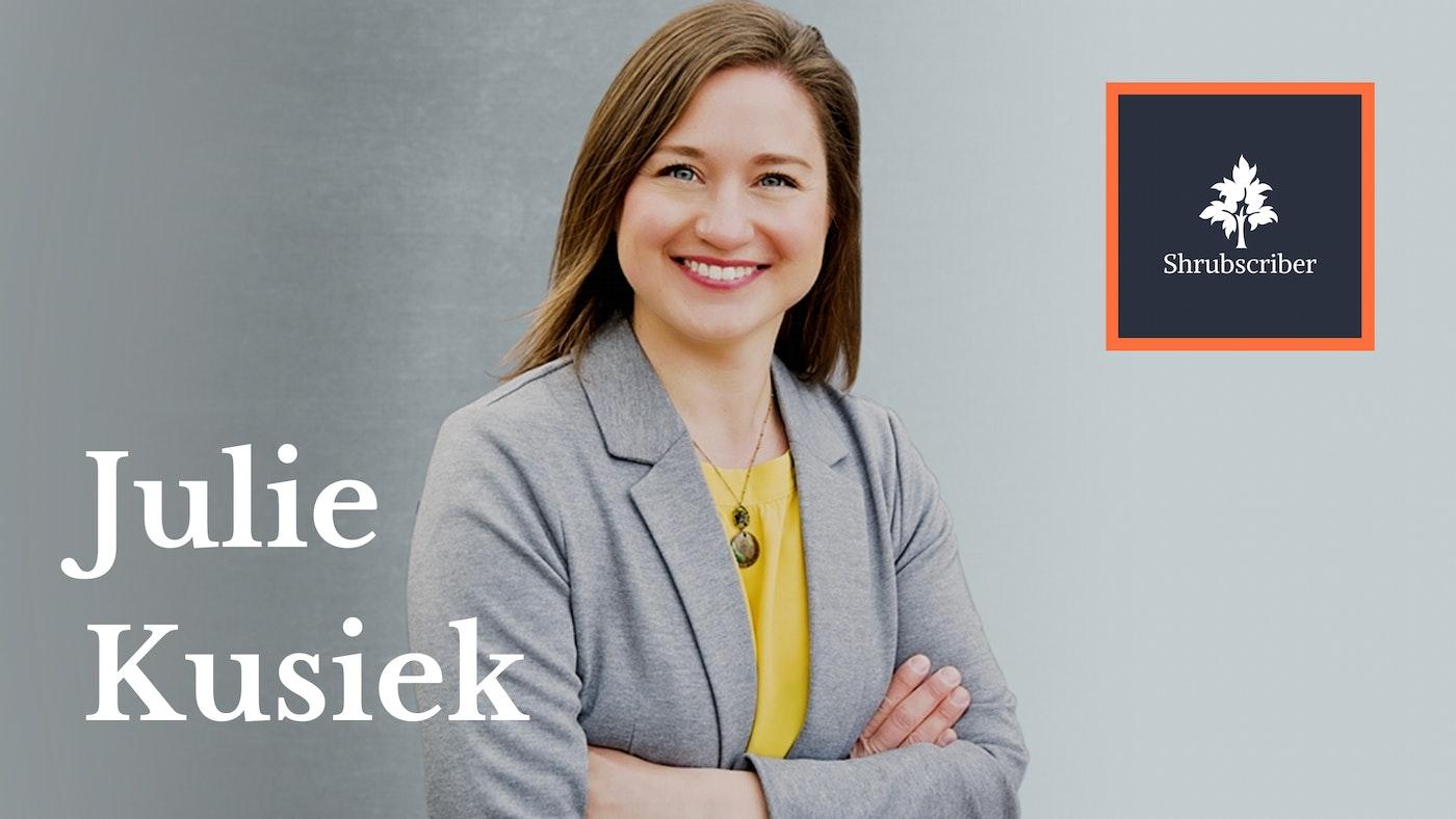 Julie Kusiek, Shrubscriber and EPSB Trustee Ward F Candidate