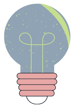 shift your thinking. a picture of a lightbulb