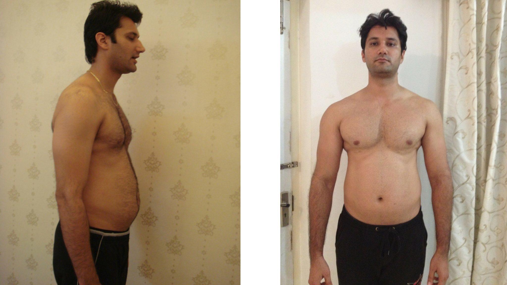 Lose last inch belly fat