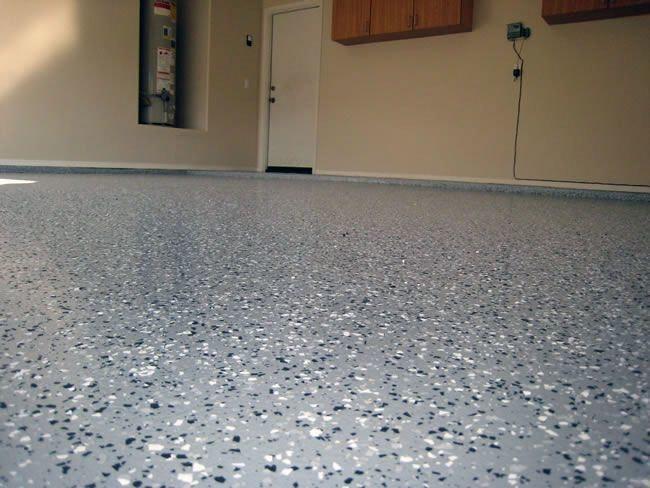 Garage Floor Polyurea Coating   Glitter My World!