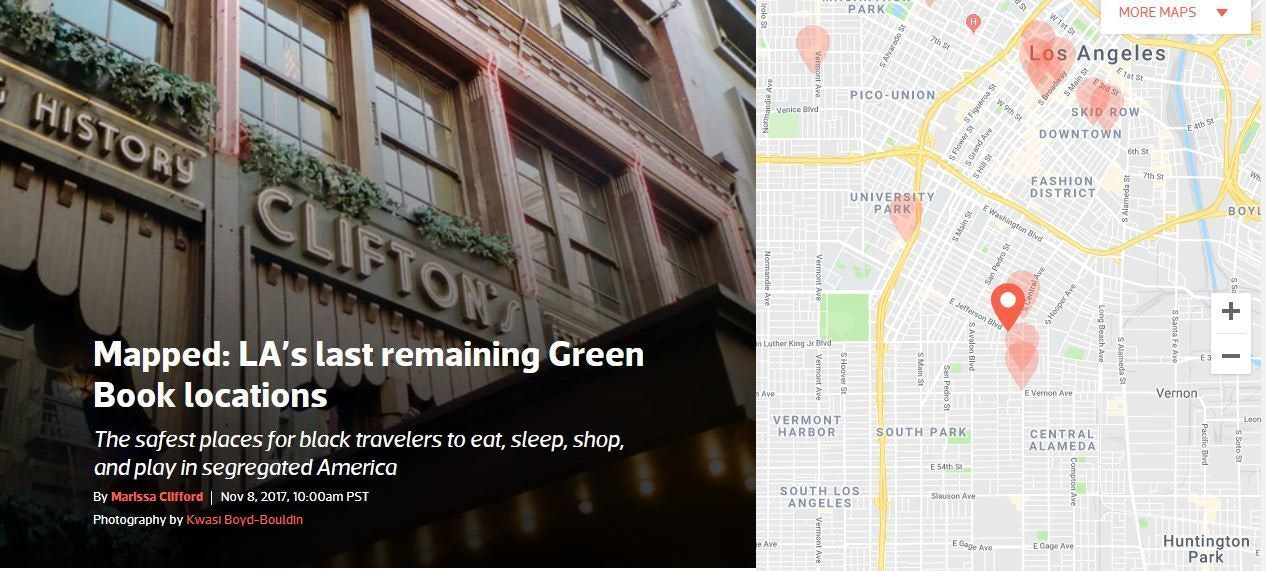 Mapped: Los Angeles's last remaining Green Book locations | We Are