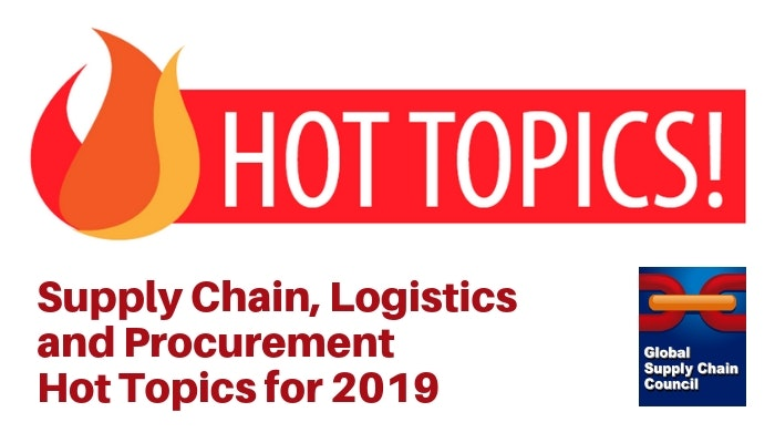 Supply Chain Hot Topics in 2019   Chain NET