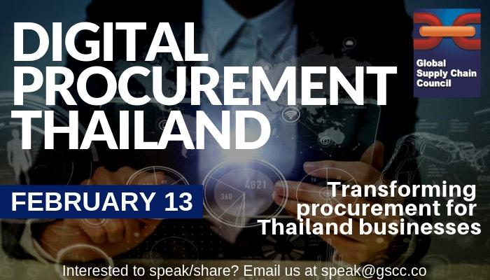 Digital Procurement Forum (Bangkok) | Chain NET