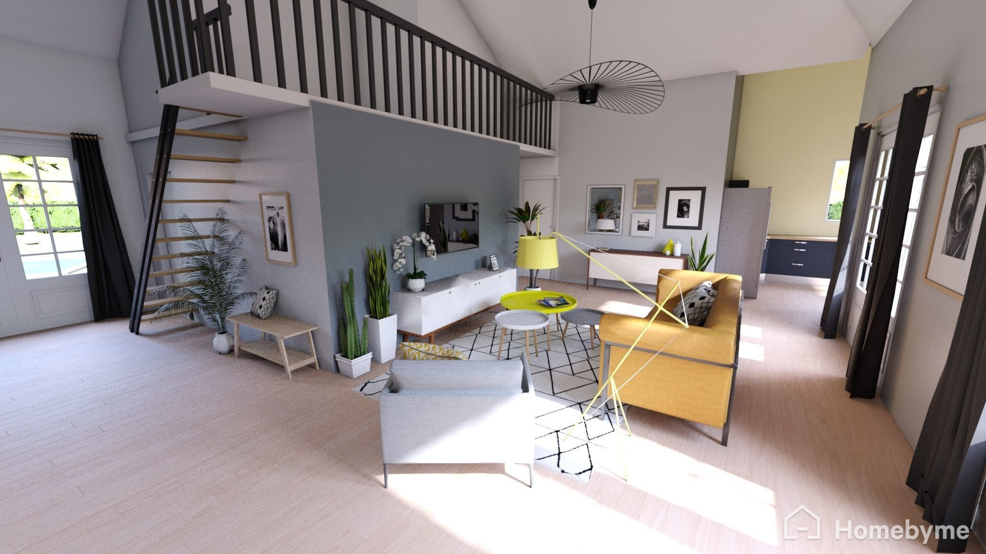 👋🏼i wanted to share with you this 3d online tool homebyme you can easily create furnish decorate any project in 3d and generate hd images in 2 clicks