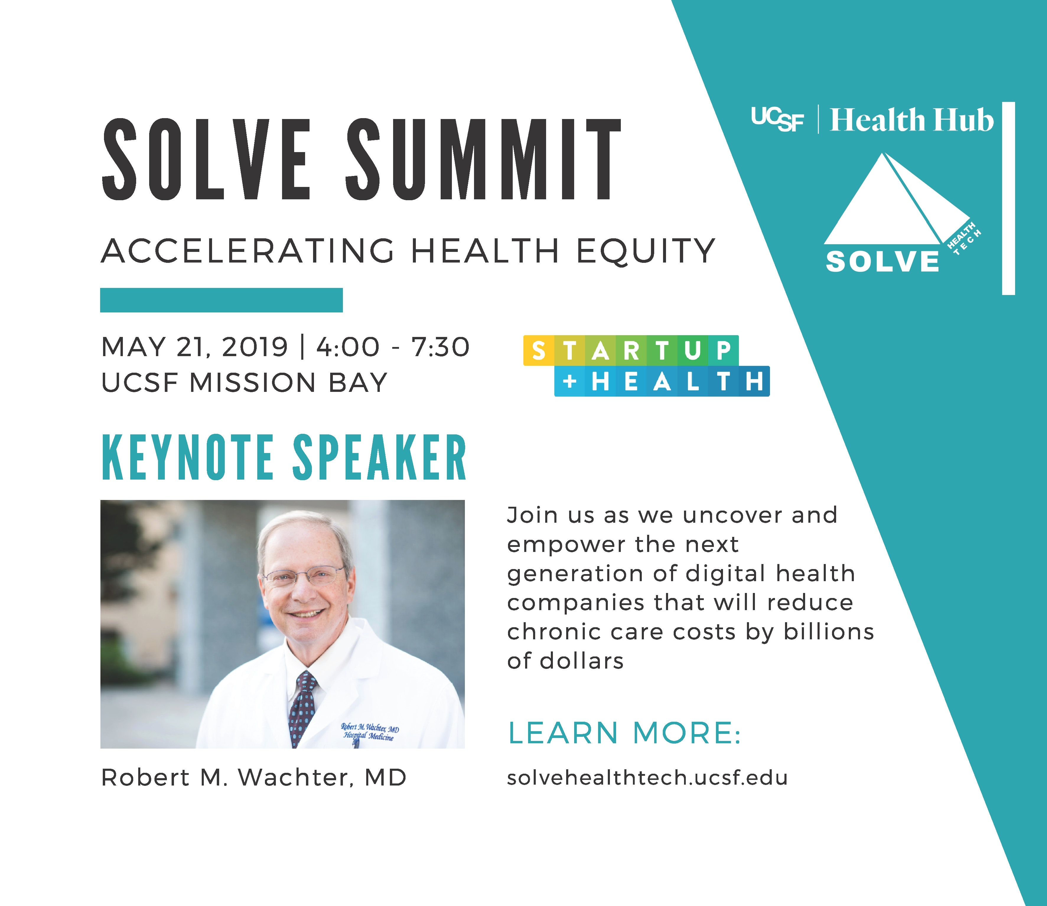 SOLVE HealthTech Summit {Discount Available}   StartUp Health HQ
