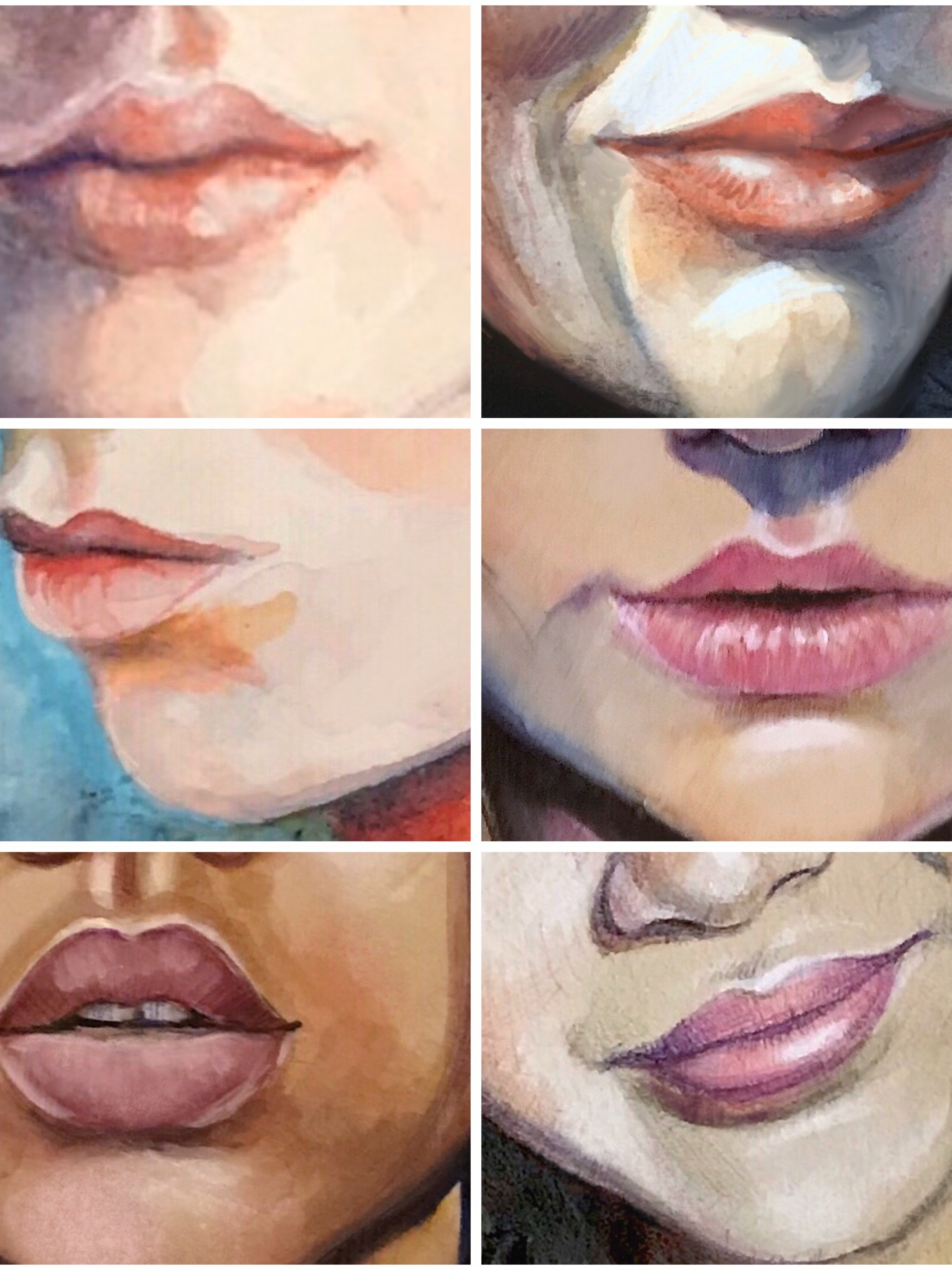 A Portrait Is A Painting With Something Wrong With The Mouth Goes A Famous Quote By John Singer Sargent And Mouths Are Tricky To Draw With Their Soft Undefined Edges And Curvy