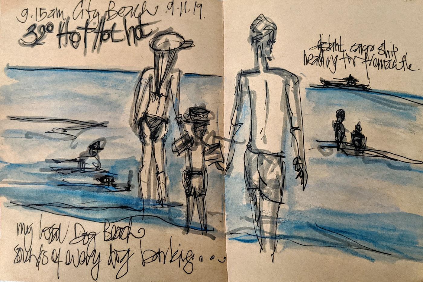 Jodie Cooper drawing