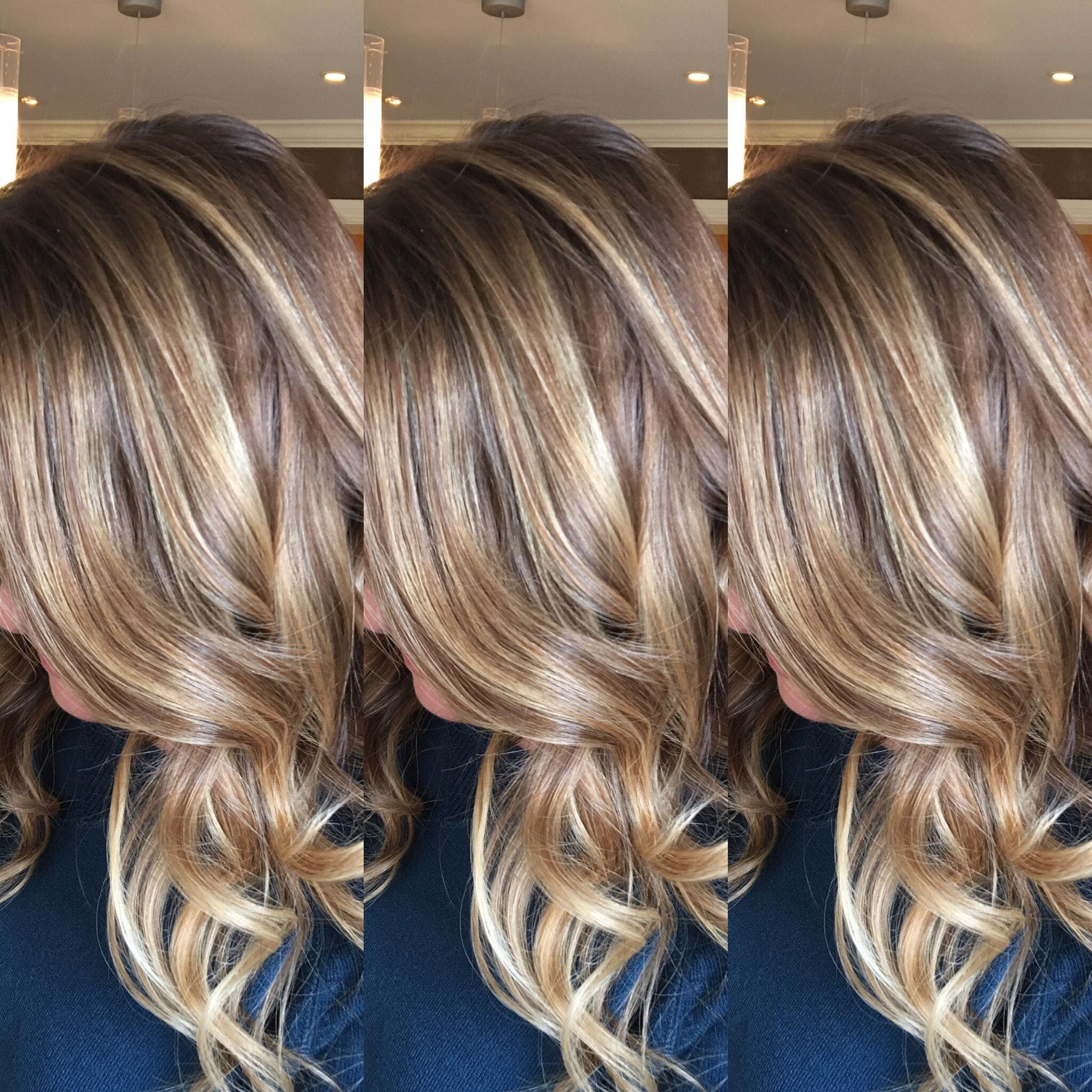 Melandre Salon Natural Light Brown Hair Balayage With